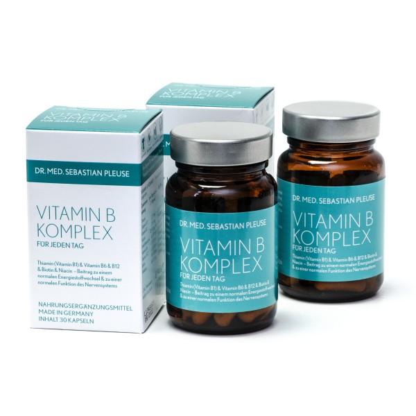 Vitamin B Komplex DOPPELPACK (2 Monate)