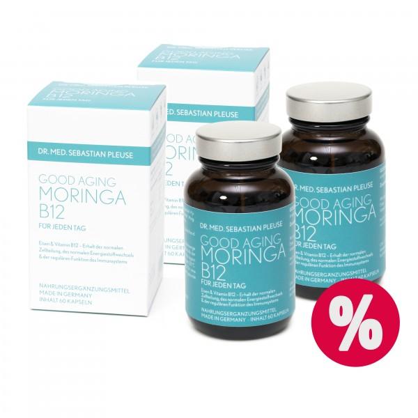 Good Aging Moringa B12 DOPPELPACK