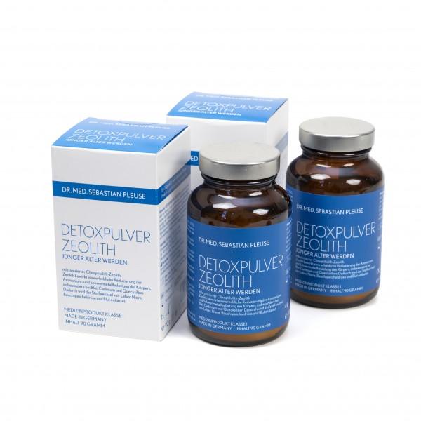 Detoxpulver Zeolith DOPPELPACK (2 Kuren)