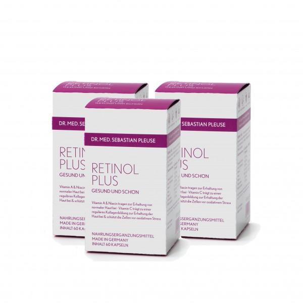 Retinol Plus DREIERPACK (3 Monate)