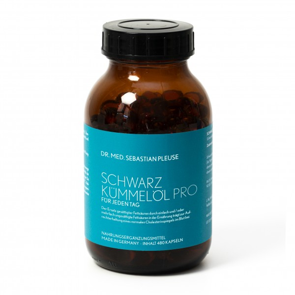 Schwarzkümmelöl Pro MEGAPACK (8 Monate)