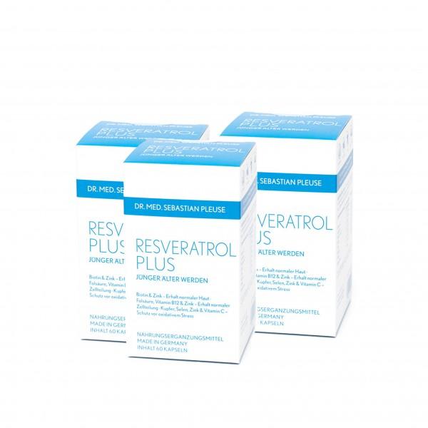 Resveratrol Plus DREIERPACK (3 Monate)