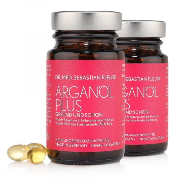 Arganöl Plus DOPPELPACK (2 Monate, MHD naht)