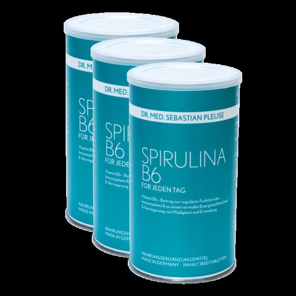 Spirulina B6 5.400 Presslinge