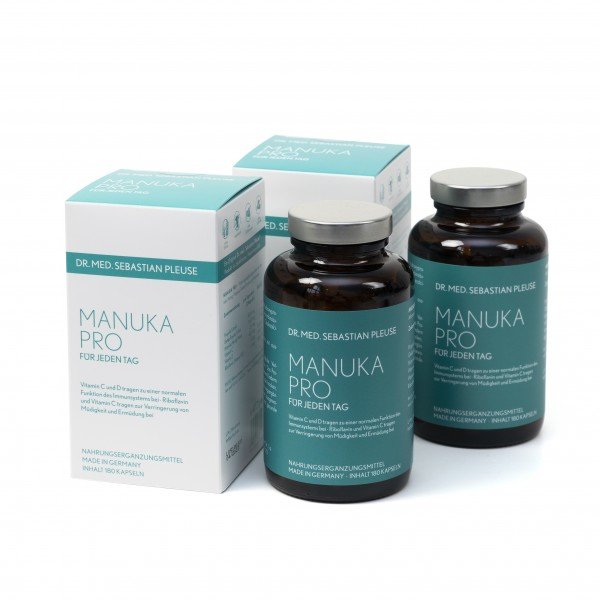 Manuka Pro DOPPEL-MEGAPACK (6 Monate)