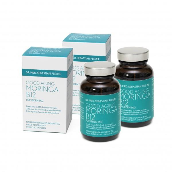 Good Aging Moringa B12 DOPPELPACK (2 Monate)