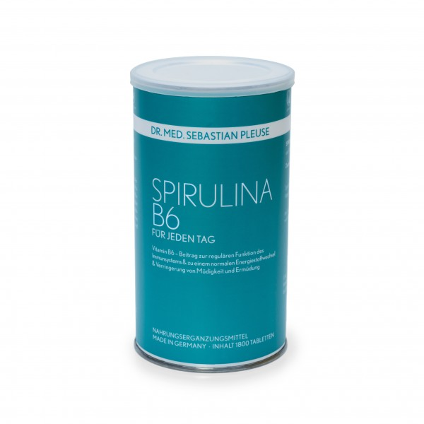 Spirulina B6 1.800 Presslinge (4 Monate)