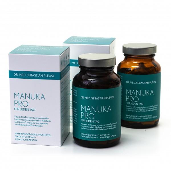 Manuka Pro DOPPEL-MAXIPACK (4 Monate)