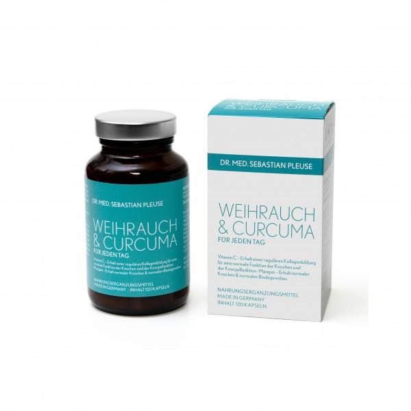 Weihrauch & Curcuma MAXIPACK (2 Monate)